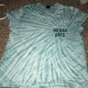 zumiez no bad days shirt
